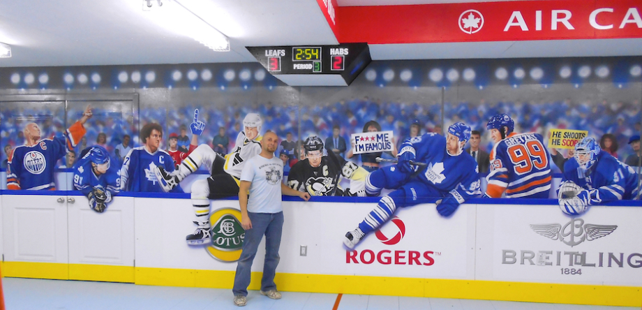 Adding another hockey #mural to celebrate the upcoming NHL season starting  soon! <3